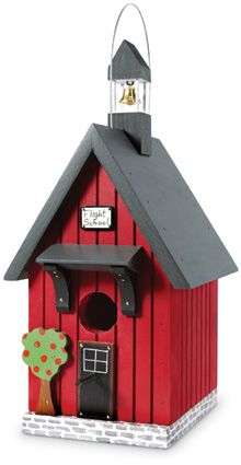 6498: Flight School Birdhouse (Product Detail)