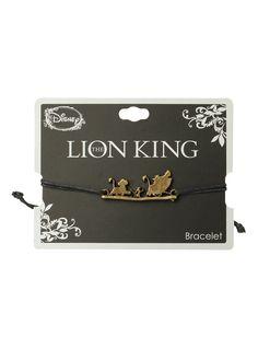 Disney The Lion King Hakuna Matata Cord Bracelet,