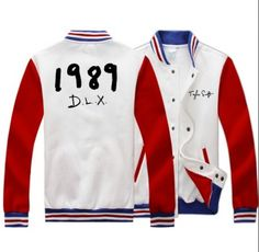 Taylor Swift baseball jacket for swiftie 1989 DLX fleece sweatshirt plus size