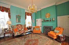 turquoise rooms - interior design