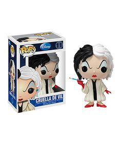 Take a look at this Cruella De Vil POP Figure by Disney on #zulily today!