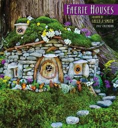 fairy houses pictures | Fairy Houses – Creating Hope Under the Trees | The L.A.N.D. Line