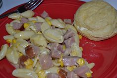 Ham and Cheese Slowcooker Pasta | The Domestic Geek