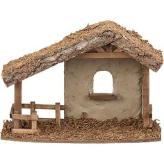 Christmas Central offers Christmas Nativity Pieces including Lighted Nativity Figures, Outdoor Nativity, Fontanini Pieces, Stables, & more! Nativity Stable, Diy Nativity, Christmas Nativity, Christmas Crafts, Christmas Ornaments, Nativity Scenes, Christmas Crib Ideas, Christmas Night, Christmas Decorations