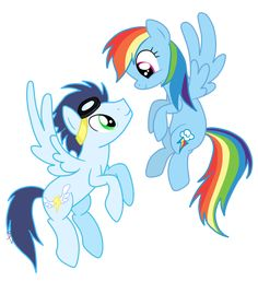 rainbow dash x soarin | Rainbow Dash and Soarin by Go0re( people be always getting Soarin's cutie mark the wrong but this is at people that's the real cutie mark don't deny it)
