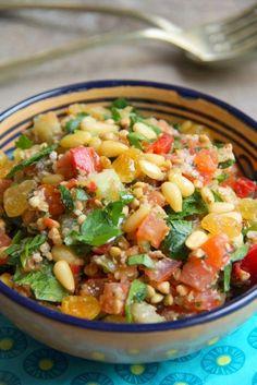 Taboulé au kasha (sarrasin grillé)