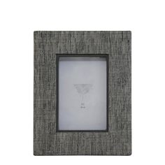A31013 Cloth Frame in Gray and White 4x6