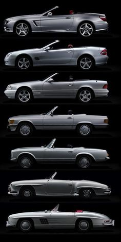 Evolution 2012 Mercedes-Benz SL500 R231 2001 Mercedes-Benz SL500… - FYeah Cars