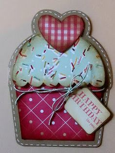 Cards - Cupcakes on Pinterest | Cupcake Card, Cupcake Birthday and ...