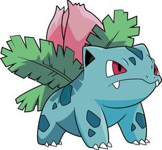 Pokédex entry for #2 Ivysaur containing stats, moves learned, evolution chain, location, type weaknesses, other forms and more! | PokemonPets