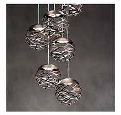 Kelly Cluster LED Pendant By Studio Italia Design