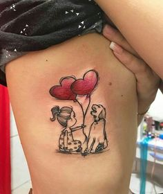 So süß - tatoo feminina Neue Tattoos, Dog Tattoos, Animal Tattoos, Body Art Tattoos, Small Tattoos, I Tattoo, Tatoos, Tattoo Quotes, Sweet Tattoos