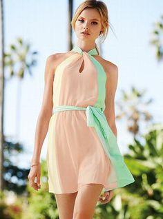 Платье colorblock victoria's secret