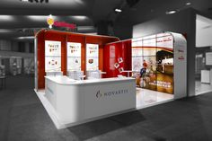Novartis exhibition stand designed and constructed by Expocentric