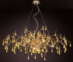 Contemporary chandelier / glass BIJOUT: CT3268/8-FP/05+36 by Pablo Picasso SERIP , Organic Lighting