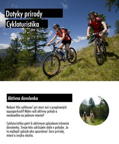 Aktívna dovolenka to môže byť aj cykloturistika v Tatrách