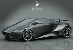"Lamborghini Embolado Concept    Designed by Italian design student Luca Serafini, the name of the concept derives from the Spanish festival ""Embolado Bull""."