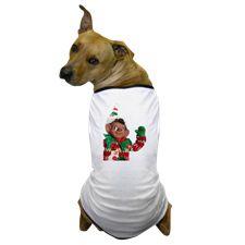 Elf on a Shelf Dog T-Shirt
