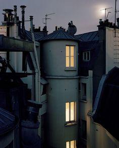 Salon du Panthéon: Alain Cornu's Roofs of Paris - The Eye of Photography Magazine Paris France, Paris Paris, Metro Paris, Paris By Night, Paris Rooftops, My Little Paris, Art En Ligne, Paris Ville, Fine Art Gallery