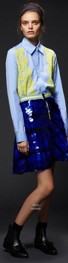 Preen by Thornton Bregazzi collection Pre Fall 2015