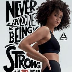Reebok's Women's Empowerment Ad Campaign : All the Stars of Reeboks Women's Empowerment Campaign [PHOTOS] – Footwear News Visit the post for more. Sports Graphic Design, Graphic Design Trends, Graphic Design Posters, Ad Design, Graphic Design Inspiration, Typography Design, Cover Design, Layout Design, Lettering