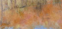 Water and Grasses, 24 x 48, oil on canvas, 2011