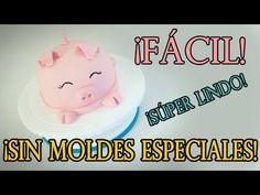 ¡Haz este lindo pastel SIN MOLDES ESPECIALES! - ¡PASTELES FACILISIMOS! - YouTube