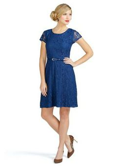 Cato Fashions Belted Lace Dress - Plus 26w $34.99 $24.99 #CatoFashions