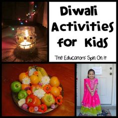 Here's a peek at our family learning about Diwali with our kids. These Diwali activities are simple and informational as your explore the festival of lights with your child. Diwali Party, Diwali Celebration, Diwali Activities, Preschool Activities, Multicultural Activities, Preschool Music, Hindu Festivals, Indian Festivals, Holiday Crafts
