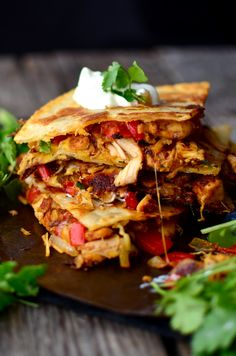 Yammie's Noshery: Quick and Easy Basic Quesadillas