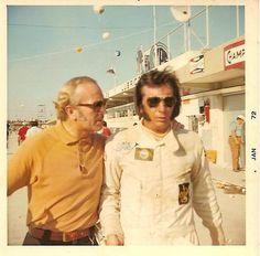 Colin Chapman & Emerson Fittipaldi