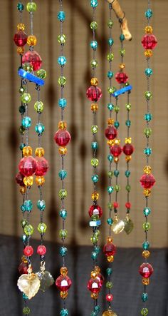I hang beads and tassels everywhere and every time someone comes in my home they always comment on the beauty of it...JW #bornbohemian