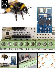IoT Hive Platform-providing info for beekeepers using ESP8266 https://hackaday.io/project/10275-save-the-bees-save-the-planet-iot-hive-platform