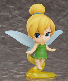 "Buy Nendoroid Tinker Bell - Articulated Figure at Mighty Ape NZ. The feisty and sometimes jealous fairy, Tinker Bell is joining the Nendoroids! From Disney's popular movie ""Peter Pan"" comes a Nendoroid of Tinker Be. Tinker Bell, Clay Projects, Clay Crafts, Toy Art, Art Disney, Disney Fairies, Tinkerbell Disney, Mode Shop, Good Smile"