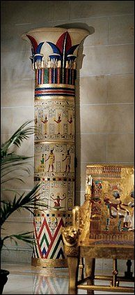 Egyptian themed decorating ideas and Egyptian themed decor