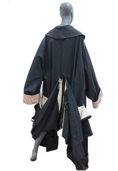 A rare and early John Galliano 'Les Incroyables' collection coat c.1984   From a collection of rare vintage coats and outerwear at https://www.1stdibs.com/fashion/clothing/coats-outerwear/