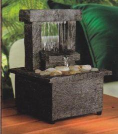 Tabletop-Water-Fountain-Battery-Cordless-Mini-Waterfall-Meditation-Raining