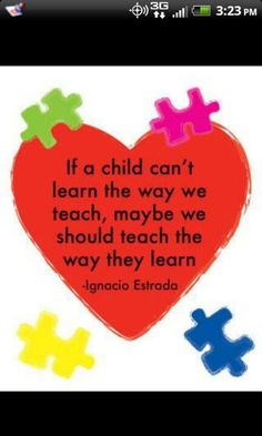 Having a son with a learning disability I have to agree! So thankful he actually has teachers that follow this!!