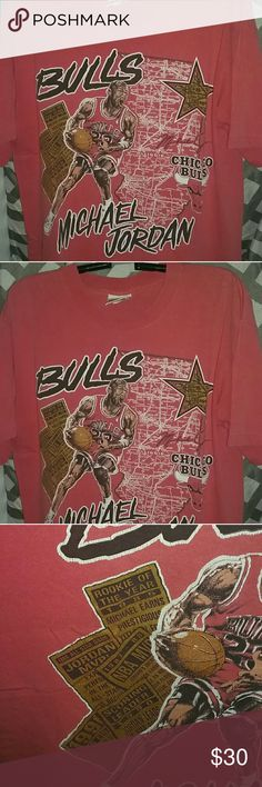 VINTAGE Michael Jordan Shirt Great vintage condition! No holes. Perfect for the sports fanatic! Greatest Player of All-Time! Nutmeg Shirts Tees - Short Sleeve