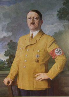 Portrait by Heinrich Knirr. It was on exhibit at the Greater German Art Exhibition in 1937. The image is from Die Kunst im Dritten Reich, October 1937.
