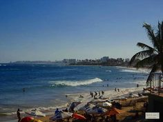 Salvador, Bahia, Brasil. Praia da Pituba.