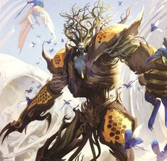 http://wellofeternitypl.blogspot.com Age of Sigmar Artwork | Sylvaneth | Drycha…