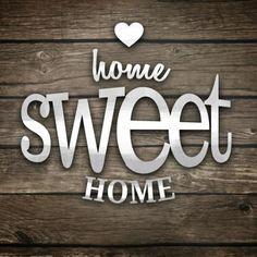 Hogar dulce hogar!