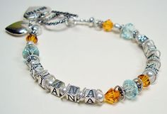 Mother's Day bracelet with complete instructions