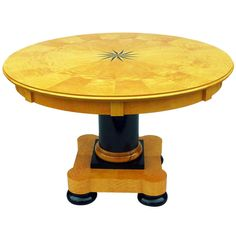 A Swedish Biedermeier Concentric Extending Dining Table Circa 1900/