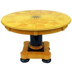 A Swedish Biedermeier Concentric Extending Dining Table Circa 1900/