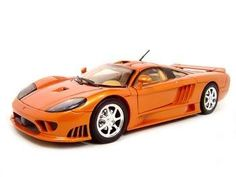 Saleen S7 Diecast Model Orange 1:18 Die Cast Car by Motormax. $22.53. Brand new diecast model, perfectly detailed and has perfect box. Makes great gift for your loved one or collector enthusiast.. This is a very detailed replica of 1/18 scale Saleen S7 diecast model car 1:18 scale die cast. Opening Doors, Opening Hood, Opening trunk, Detailed Interior, Rubber Tires, Steerable Wheels, Perfectly modeled engine, Accurate Gauges and dash inside. Saleen S7 diecast model c...