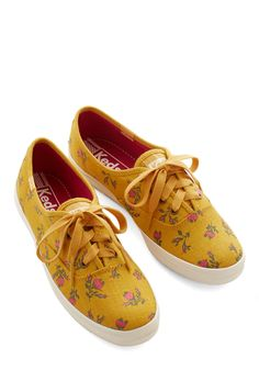 Grand Garden Gait Sneaker in Honey, @ModCloth