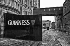 James Street is dominated by a large Guinness Brewery. It's not open to the public, but you can explore the manufacturing process and its history in the Guinness Storehouse. When you are there, you should visit the Gravity Bar at the top of the tower, where you can enjoy a free beer while watching a beautiful panoramic view of Dublin.