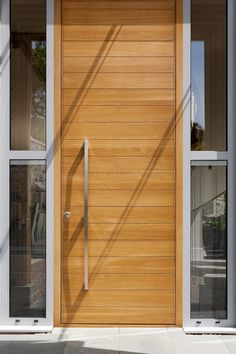 Oversized oak front door Ref:Water-62